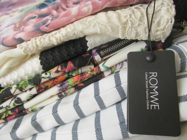 New In: ROMWE Bestellung & Review