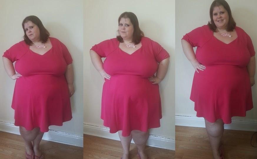Wannabe Princess Plus Size Skater Dress