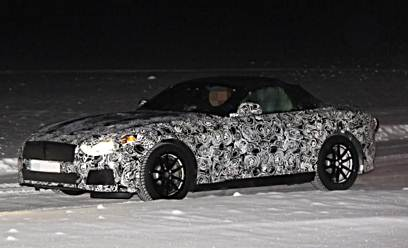 BMW Z5 Roadster spotted for the first time