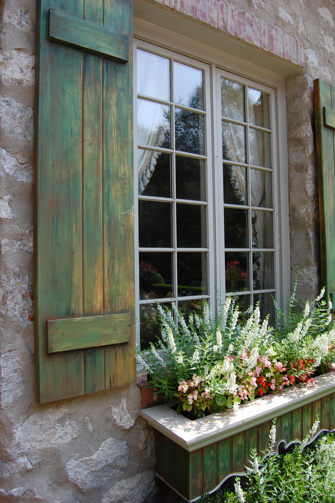 Potter art metal studios the mind of leo dowell for French country shutters