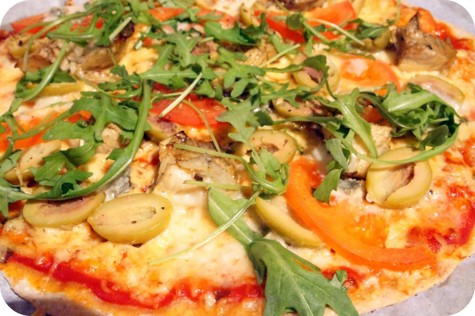 pizzadeg med grahamsmjöl