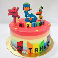 Cake Standing Edible
