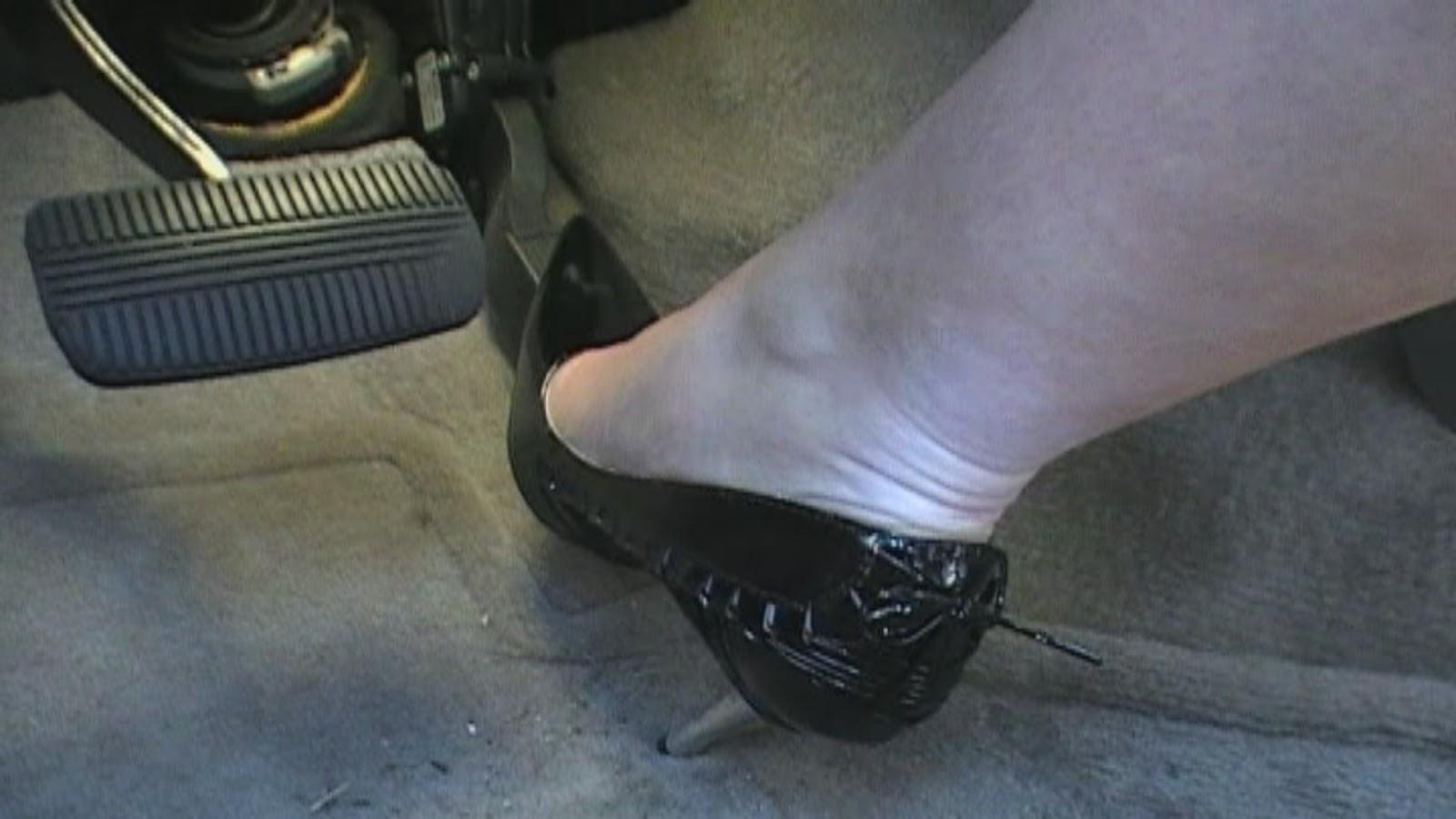 Pedal Pumping Flooring : Women high heels flooring gas pedal hot girls wallpaper