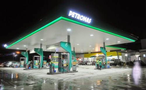 Kisah Langsuir Menumpang Di Petronas Jalan Subang Airport