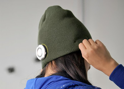 Beanie with Built-in MP3 Player