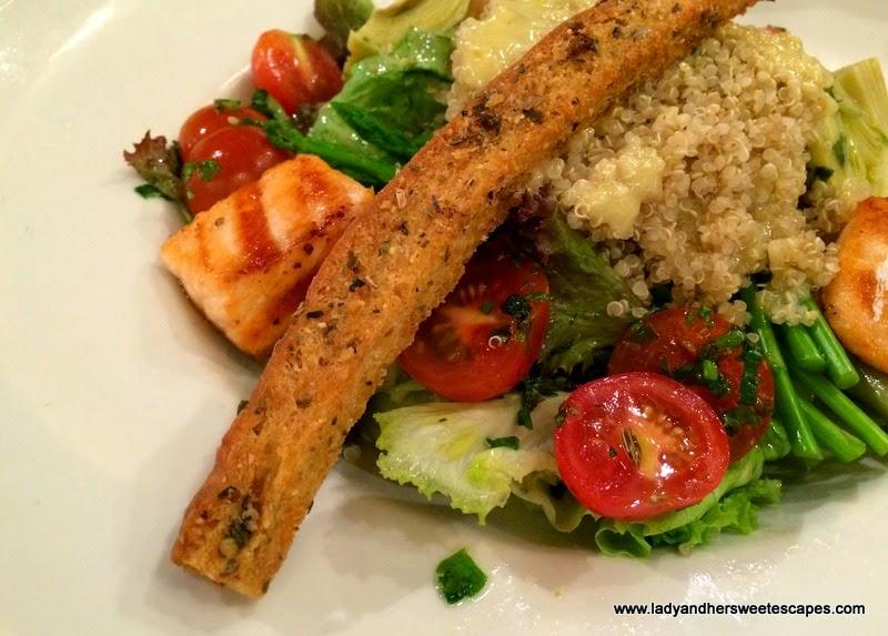 Salade Quinoa Nature at PAUL BurJuman