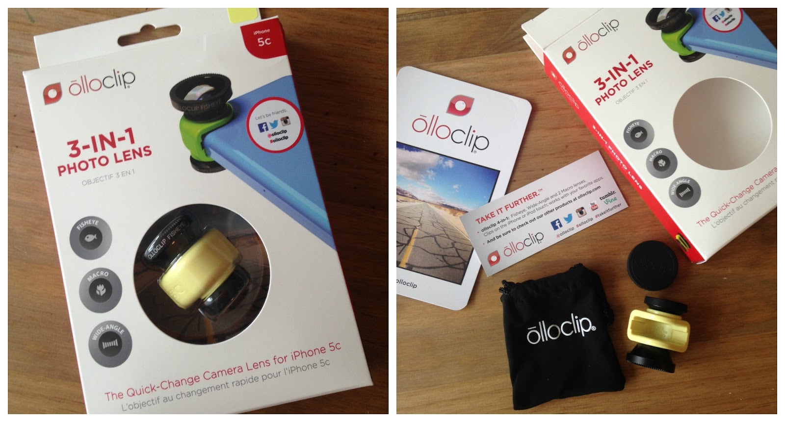 Olloclip review & giveaway!