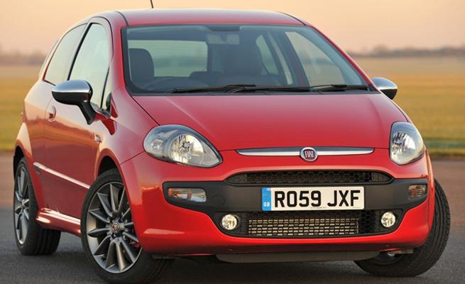 car i Fiat Punto 2014