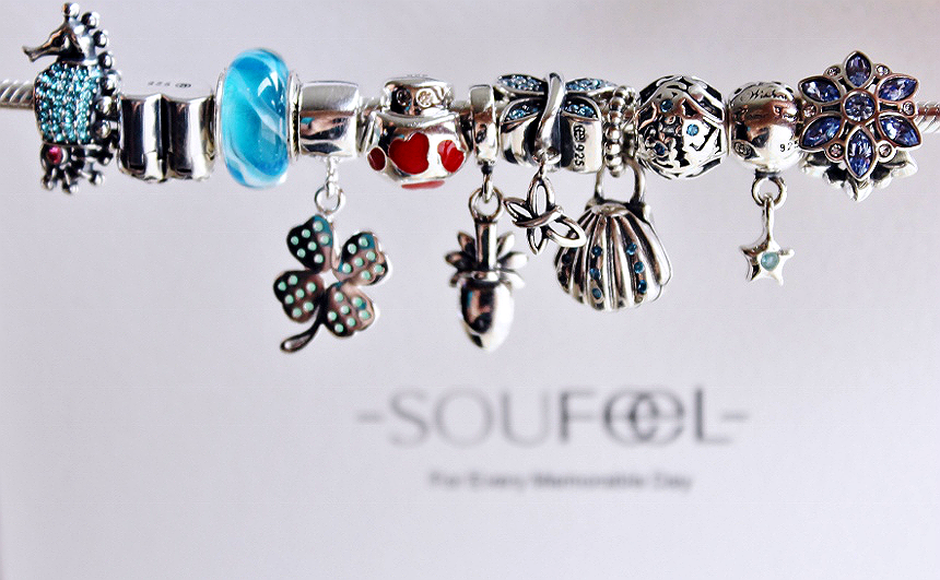 Visit SouFeel.com for a wide selection of unique sterling silver, swarovski, and 14k gold charms, bracelets, pendants and more. Find charm collection bracelets to compliment your style and interests! #sponsored