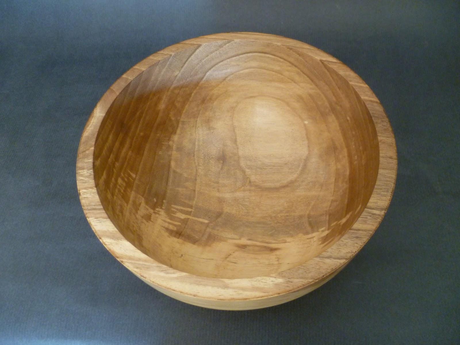 atelier du bois tourn woodturning design bol en noyer chauff. Black Bedroom Furniture Sets. Home Design Ideas