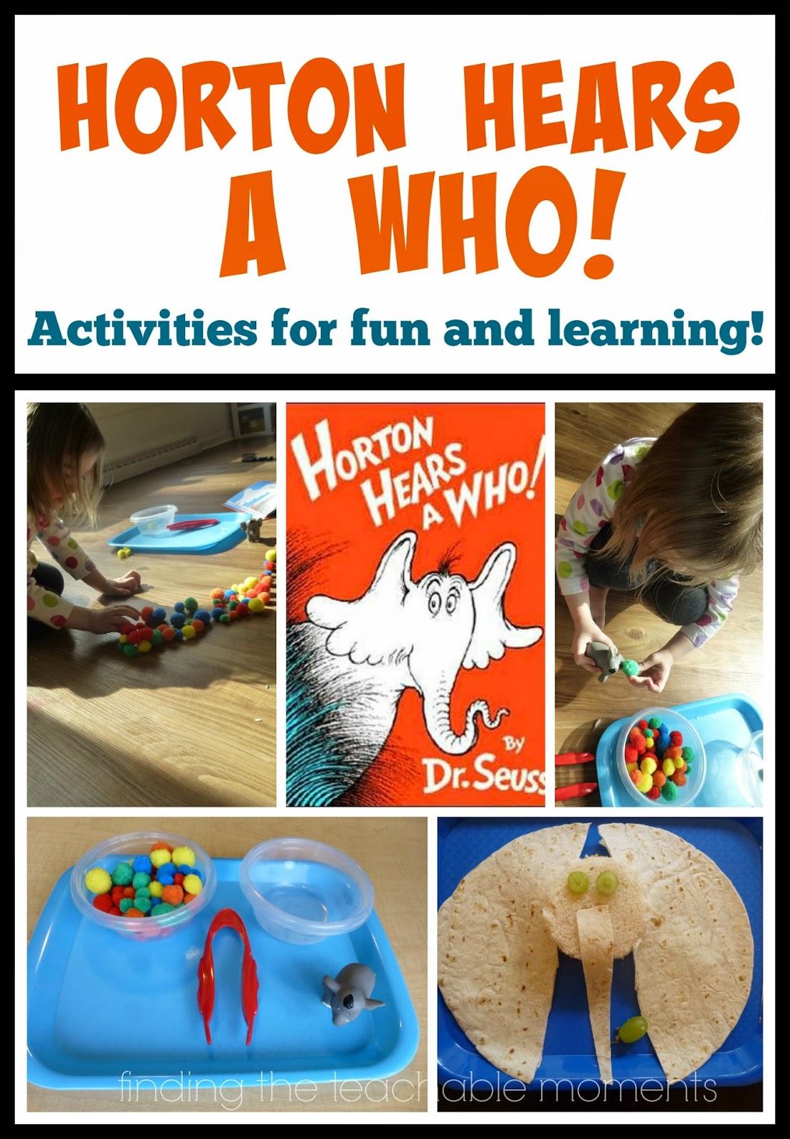 Horton Hears a Who! Activities