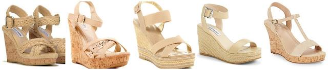 Steve Madden Eatz Wedge Sandal $29.99 (regular $69.99)  Elegant Footwear Belvia Wedge Sandal $32.97 (regular $70.99)  Charles David Thrice Espadrille Wedge Sandal $39.97 (regular $109.95)  Steve Madden Seaside Wedge Sandal $47.96 (regular $79.95) newly on sale!  Charles David Libra Suede Wedge Sandals $49.99 (regular $99.00)