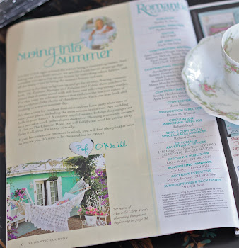 Romantic Country Magazine Summer 2011