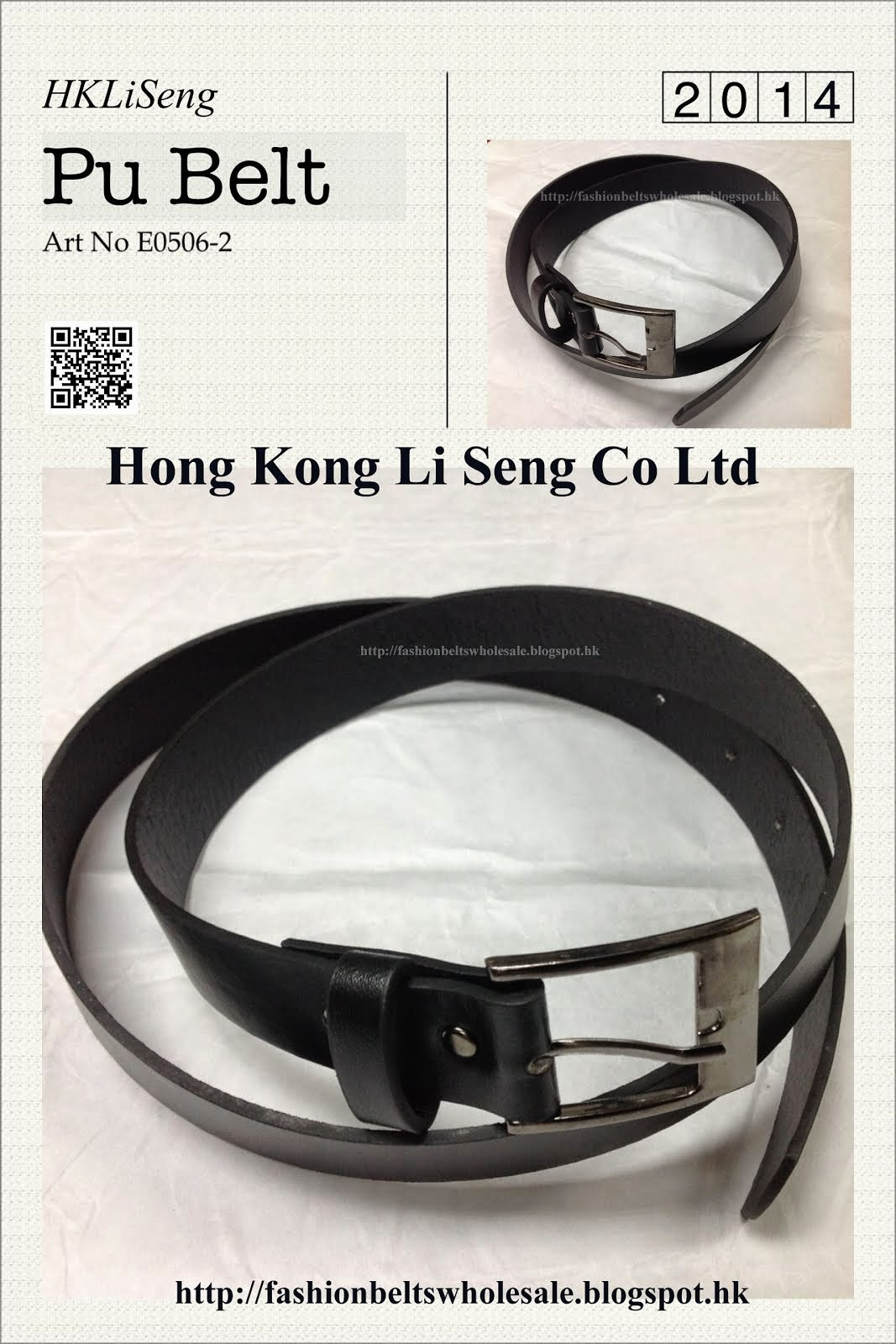 Man Pu Belt Art No.B0506-2