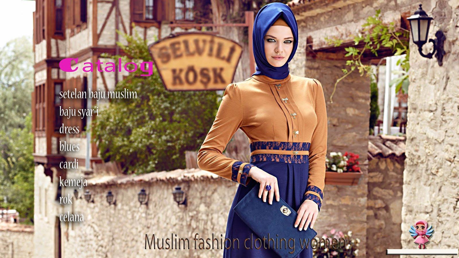 Konikshop Buku Katalog Baju Catalog Busana Muslim