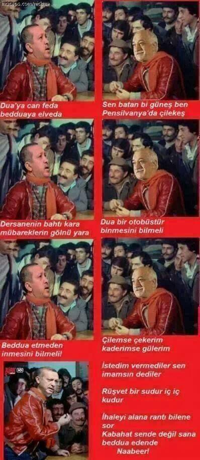 Çiçek Abbas Recep Tayyip Erdoğan vs Fethullah Gülen Hoacefendi Atışması