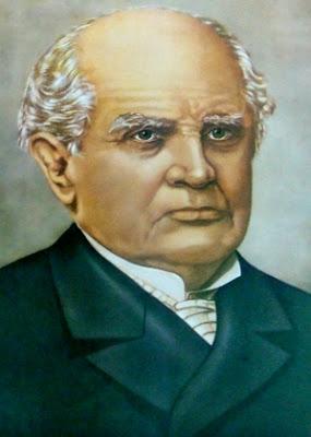Dibujo de Domingo Faustino Sarmiento