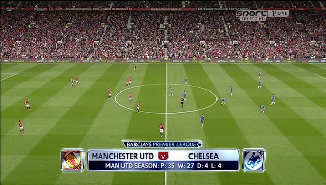 Premier League: Manchester United v Chelsea  05/05/2013