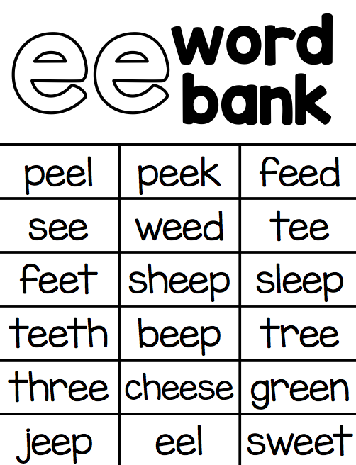 Ship Shape First Grade Vowel Teams – Vowel Teams Worksheets