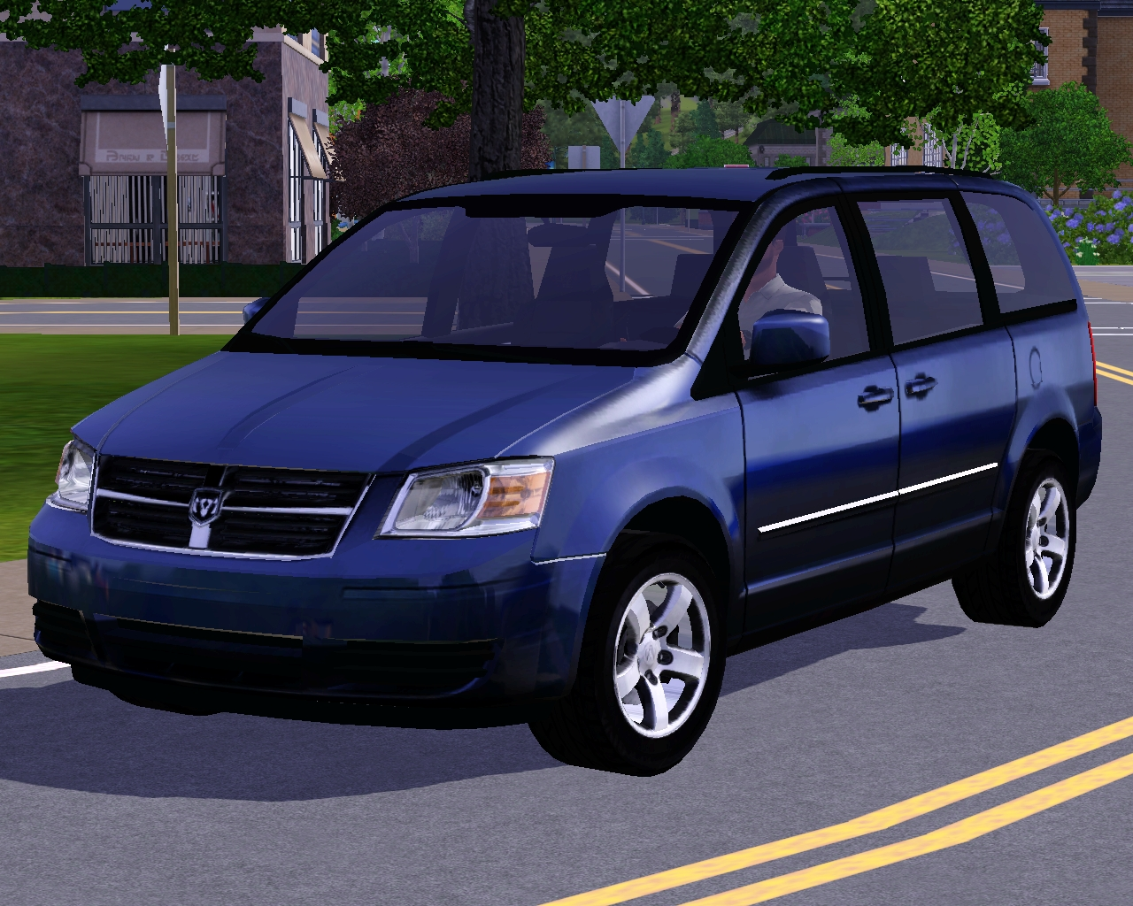 my sims 3 blog 2010 dodge grand caravan by fresh prince. Black Bedroom Furniture Sets. Home Design Ideas