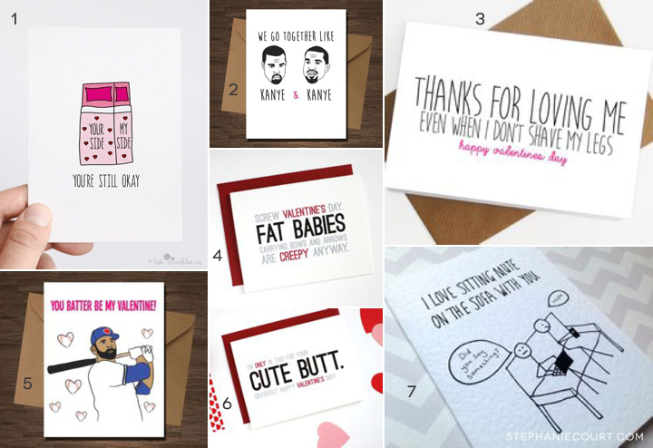 etsy valentines day cards