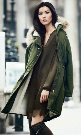 H&M otoño invierno 2014 2015 parka