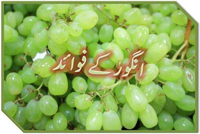 Angoor ke faide in urdu for health skin
