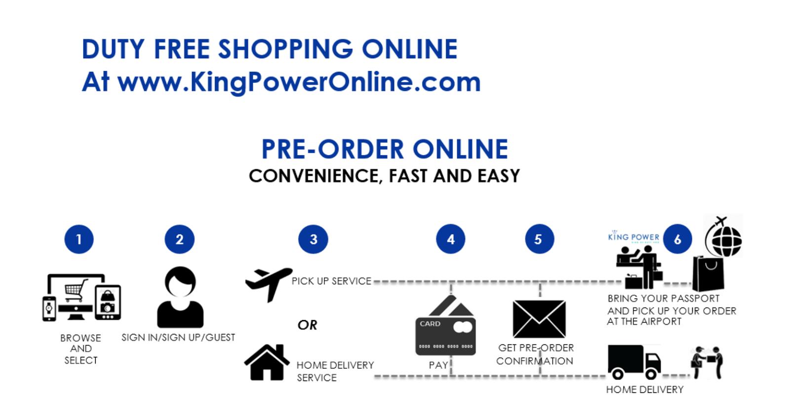 Kingpower Duty Free Thailand