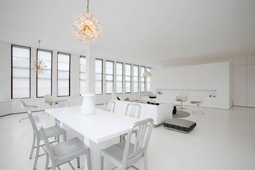 ARCHI LOVE Living Total White In Stile Contemporaneo