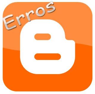 Erro no blogger, editar html