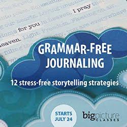 Grammar Free Journaling Class