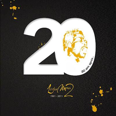 Leritaj Mona 20 ans après pochette