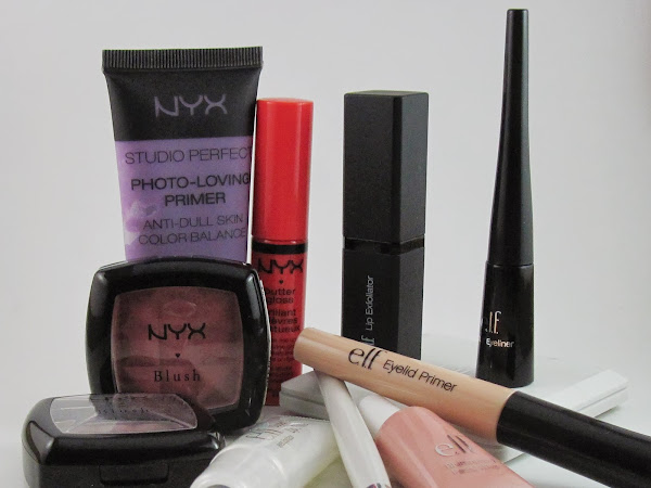Blogust #3: NYX and e.l.f. haul