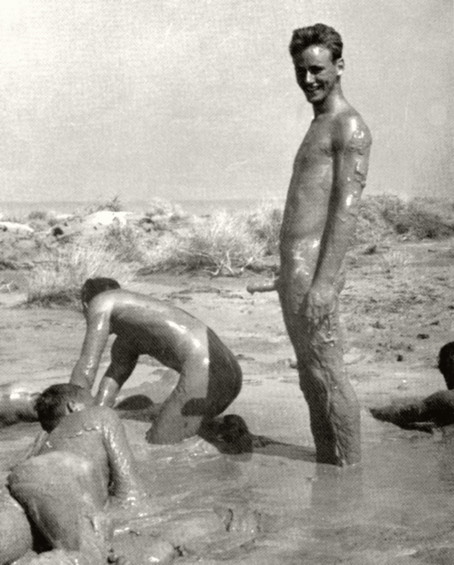 boys naked with fathers