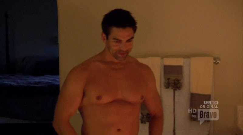 Eddie Judge Shirtless on Real Housewives of Orange County s6e03