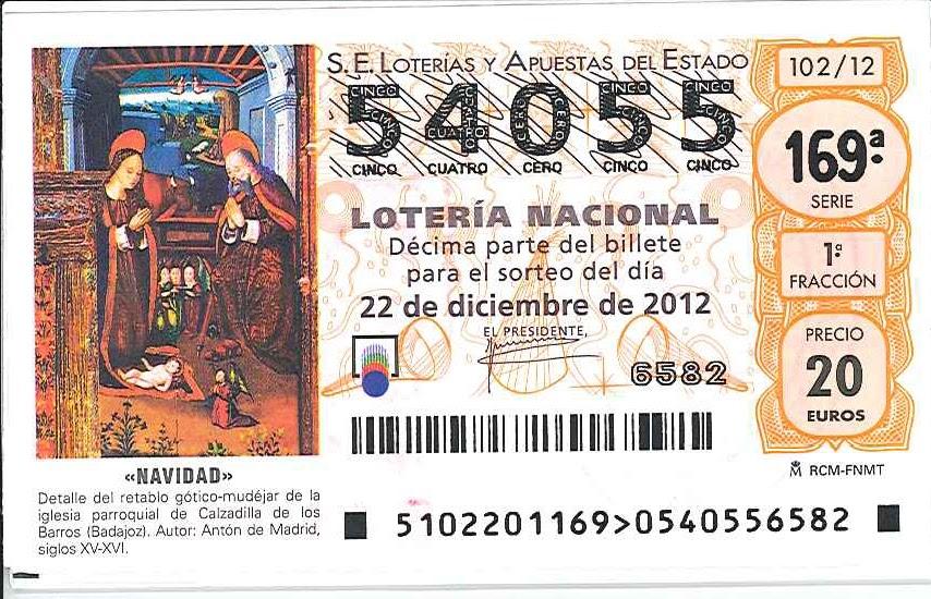 loteria nacional navidad buscar: