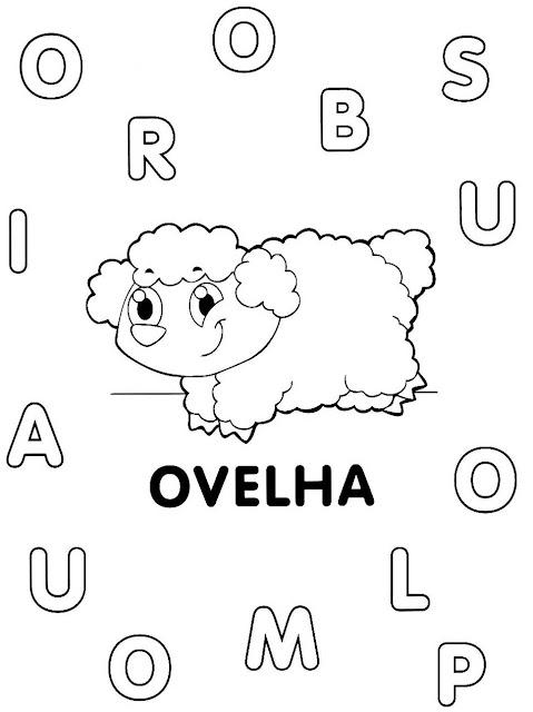 Atividades de Alfabetização coma letra O