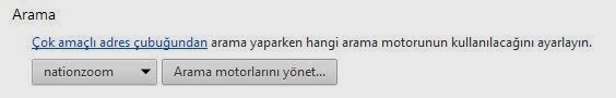 chrome dan nationzoom kaldırma