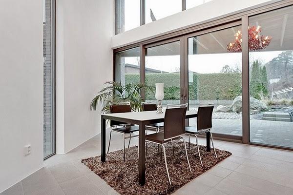 Desain Villa Modern Yang Megah Di Swedia
