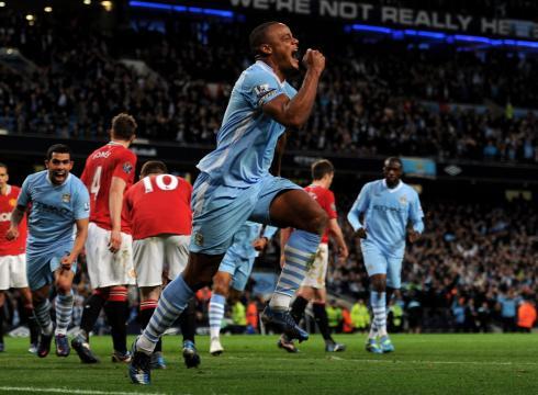 Campeonato Inglês 36ª rodada, Manchester City 1 x 0 Manchester United