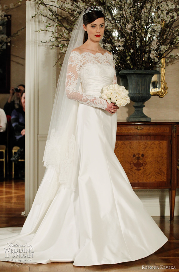 Modest Couture Wedding Dresses With Sleeves