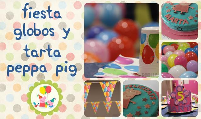 Decoracion Cumplea?os Peppa Pig ~ Para celebrar que Marta cumpl?a 5 a?os, y como le encanta Peppa Pig
