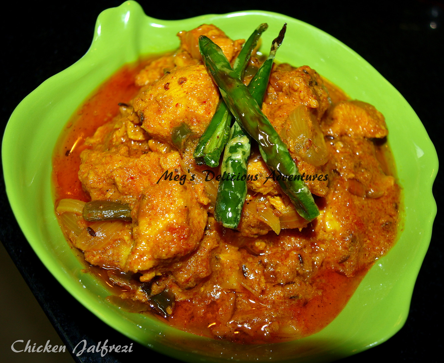 Chicken Jalfrezi - Recipe