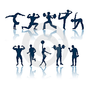 health and fitness clip art