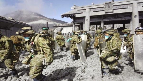 JAPON: ASCIENDE A 54 LA CIFRA DE MUERTOS POR LA ERUPCION DEL VOLCAN ONTAKE 8 de Octubre 2014