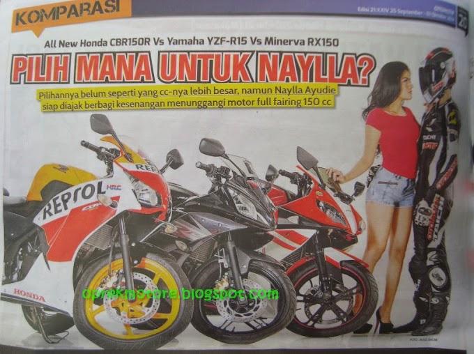 Joki Beda Jadi Biang Heboh Komparasi Sport 150cc 4tak Full Fairing Ver Tabloid Otomotif