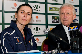 Manuela Spinelli and Giovanni Trapattoni