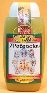 BAÑO DESPOJOS RITUAL MÁGICO 7 POTENCIAS