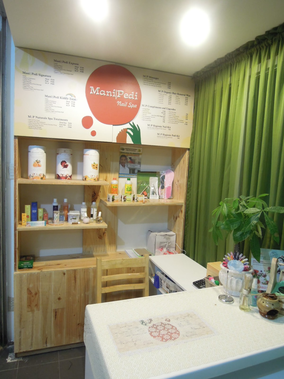 Lipstick and Paper + everything in between: Organic Nail Spa ...