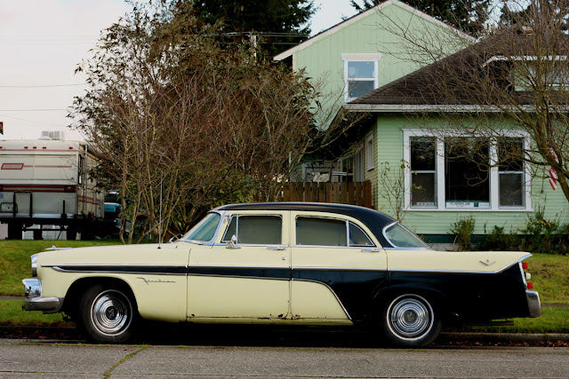 1956 DeSoto Firedome sedan.